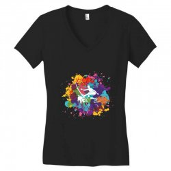 surfing Women's V-Neck T-Shirt | Artistshot