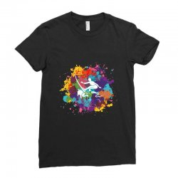 surfing Ladies Fitted T-Shirt | Artistshot