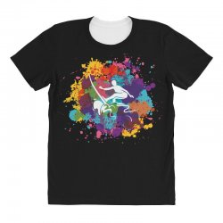 surfing All Over Women's T-shirt | Artistshot