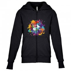 surfing Youth Zipper Hoodie | Artistshot