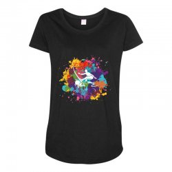 surfing Maternity Scoop Neck T-shirt | Artistshot