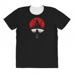 red moon naruto All Over Women's T-shirt | Artistshot