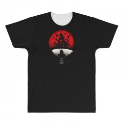 red moon naruto All Over Men's T-shirt | Artistshot