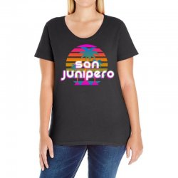 san junipero Ladies Curvy T-Shirt | Artistshot
