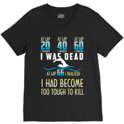 i was dead i had become too tough to kill V-Neck Tee | Artistshot