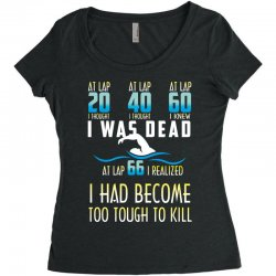 i was dead i had become too tough to kill Women's Triblend Scoop T-shirt | Artistshot