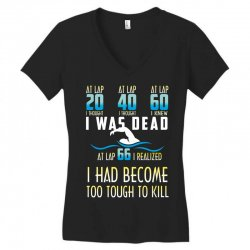 i was dead i had become too tough to kill Women's V-Neck T-Shirt | Artistshot
