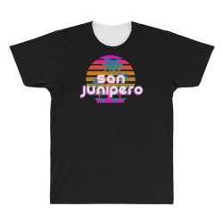 san junipero All Over Men's T-shirt | Artistshot