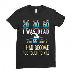 i was dead i had become too tough to kill Ladies Fitted T-Shirt | Artistshot