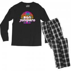 san junipero Men's Long Sleeve Pajama Set | Artistshot