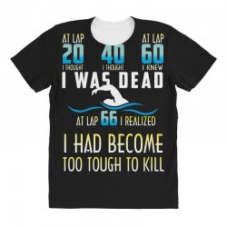 i was dead i had become too tough to kill All Over Women's T-shirt | Artistshot