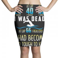 i was dead i had become too tough to kill Pencil Skirts | Artistshot