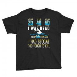 i was dead i had become too tough to kill Youth Tee | Artistshot