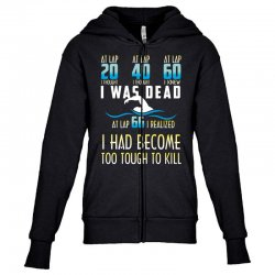i was dead i had become too tough to kill Youth Zipper Hoodie | Artistshot