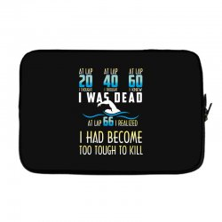 i was dead i had become too tough to kill Laptop sleeve | Artistshot