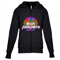 san junipero Youth Zipper Hoodie | Artistshot