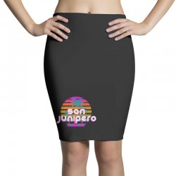 san junipero Pencil Skirts | Artistshot