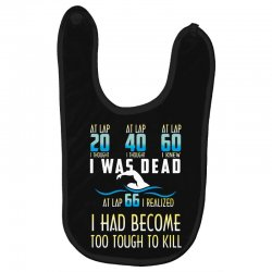 i was dead i had become too tough to kill Baby Bibs | Artistshot