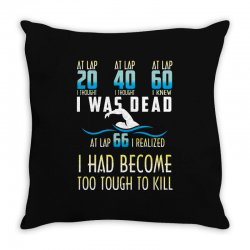 i was dead i had become too tough to kill Throw Pillow | Artistshot