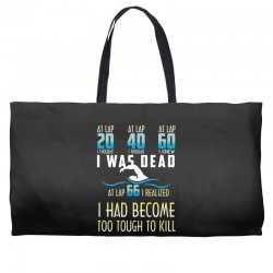i was dead i had become too tough to kill Weekender Totes | Artistshot