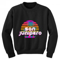 san junipero Youth Sweatshirt | Artistshot