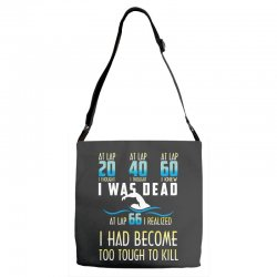 i was dead i had become too tough to kill Adjustable Strap Totes | Artistshot