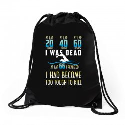 i was dead i had become too tough to kill Drawstring Bags | Artistshot