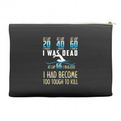 i was dead i had become too tough to kill Accessory Pouches | Artistshot