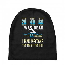 i was dead i had become too tough to kill Baby Beanies | Artistshot