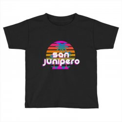 san junipero Toddler T-shirt | Artistshot