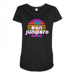 san junipero Maternity Scoop Neck T-shirt | Artistshot