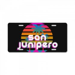 san junipero License Plate | Artistshot