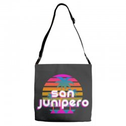 san junipero Adjustable Strap Totes | Artistshot