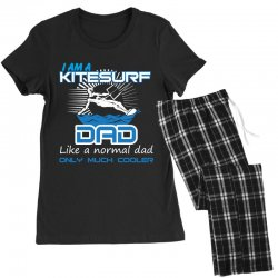 i am a kitesurf dad like a normal dad only much cooler Women's Pajamas Set | Artistshot