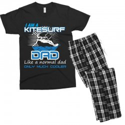 i am a kitesurf dad like a normal dad only much cooler Men's T-shirt Pajama Set | Artistshot