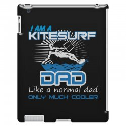 i am a kitesurf dad like a normal dad only much cooler iPad 3 and 4 Case | Artistshot
