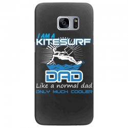 i am a kitesurf dad like a normal dad only much cooler Samsung Galaxy S7 Edge Case | Artistshot