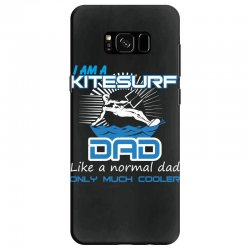 i am a kitesurf dad like a normal dad only much cooler Samsung Galaxy S8 Case | Artistshot