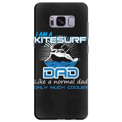 i am a kitesurf dad like a normal dad only much cooler Samsung Galaxy S8 Plus Case | Artistshot