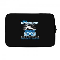 i am a kitesurf dad like a normal dad only much cooler Laptop sleeve | Artistshot