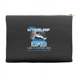 i am a kitesurf dad like a normal dad only much cooler Accessory Pouches | Artistshot