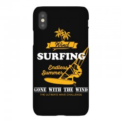 wind surfing endless summer gone with the wind the ultimate wave chall iPhoneX Case | Artistshot