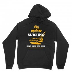 wind surfing endless summer gone with the wind the ultimate wave chall Unisex Hoodie | Artistshot
