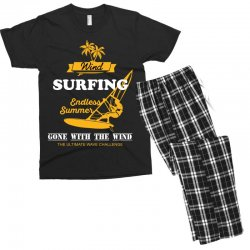 wind surfing endless summer gone with the wind the ultimate wave chall Men's T-shirt Pajama Set | Artistshot