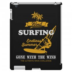 wind surfing endless summer gone with the wind the ultimate wave chall iPad 3 and 4 Case | Artistshot