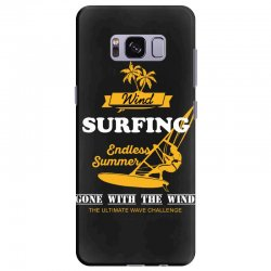 wind surfing endless summer gone with the wind the ultimate wave chall Samsung Galaxy S8 Plus Case | Artistshot