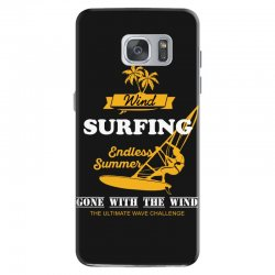 wind surfing endless summer gone with the wind the ultimate wave chall Samsung Galaxy S7 Case | Artistshot