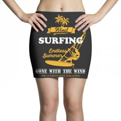wind surfing endless summer gone with the wind the ultimate wave chall Mini Skirts | Artistshot