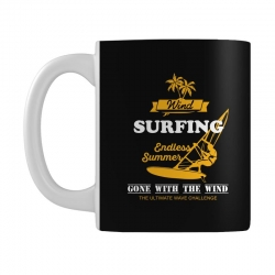 wind surfing endless summer gone with the wind the ultimate wave chall Mug | Artistshot