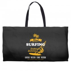 wind surfing endless summer gone with the wind the ultimate wave chall Weekender Totes | Artistshot